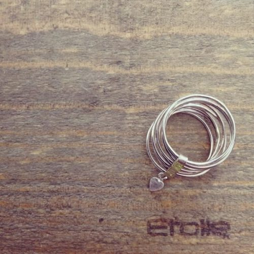 Anello 9 fili della linea Hand Made di Etoile Gioielli