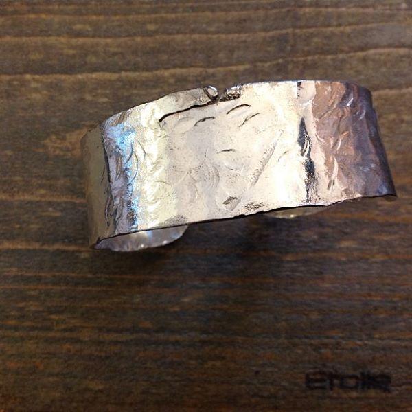 Bracciale fascia alta della linea Hand Made Etoile Gioielli