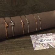 Bracciale nodo amicizia fattura artigianale della linea Hand Made Etoile Gioielli