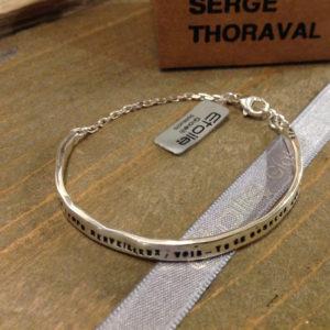 Bracciale Bonheur con catena della collezione Serge Thoraval in vendita sullo store Etoile Gioielli
