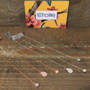 Orecchini pendenti con zirconi in vendita sullo store Etoile Gioielli