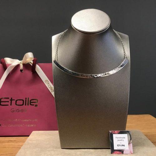 Girocollo semirigido della collezione Hand Made in vendita sullo store Etoile Gioielli