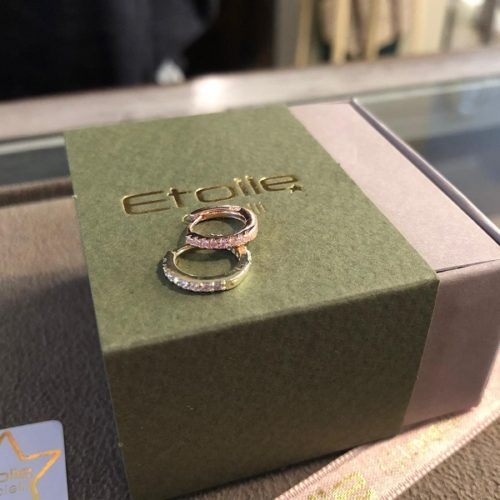 Anellina con zirconi in argento 925 placcato oro in vendita sullo store etoilegioielli.com